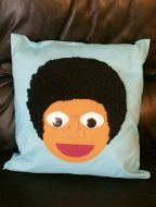 Afro Boy Cushion