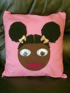 Afro Girl Cushion