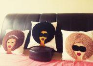 Afro Beauty Cushion