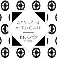 Afri-kin (Intelligence) Greeting Card