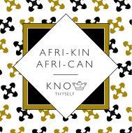 Afri-kin (Understanding) Greeting Card
