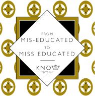 Miss Educated (Intelligence) Greeting Card