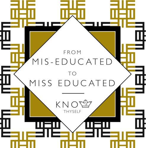 Miss Educated (Learning) Greeting Card