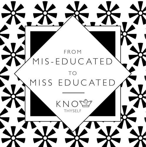 Miss Educated (Wisdom) Greeting Card