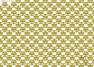Adinkra Quality Pattern - Wrapping Paper