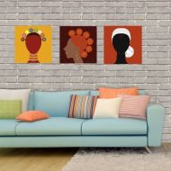 Afro Sport Canvas Art